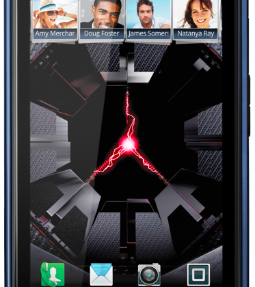 Motorola DROID RAZR now available in blue
