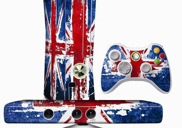 Xbox 360 dons the Union Jack for Kinect Celebration Pack
