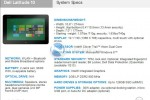 Dell Latitude 10 Windows 8 tablet leaks