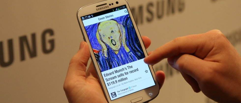Flipboard for Android is a Galaxy S III exclusive