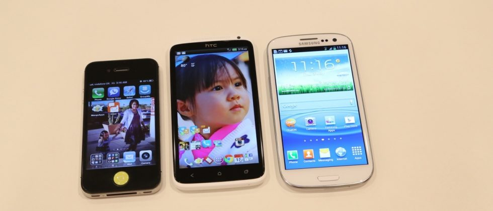 Samsung Galaxy S III vs HTC One X Hands-on