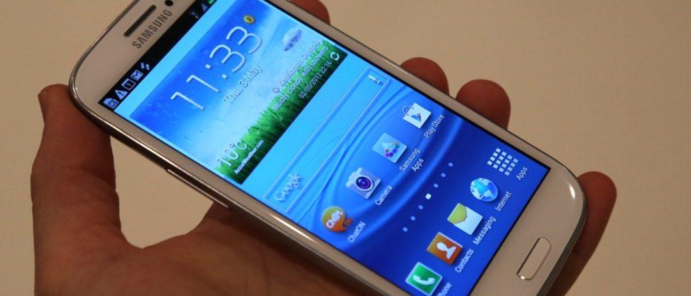 Samsung Galaxy S III pre-order price falls