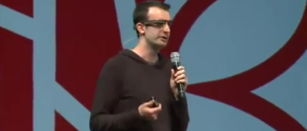 Project Glass demonstrated by tech lead Max Braun