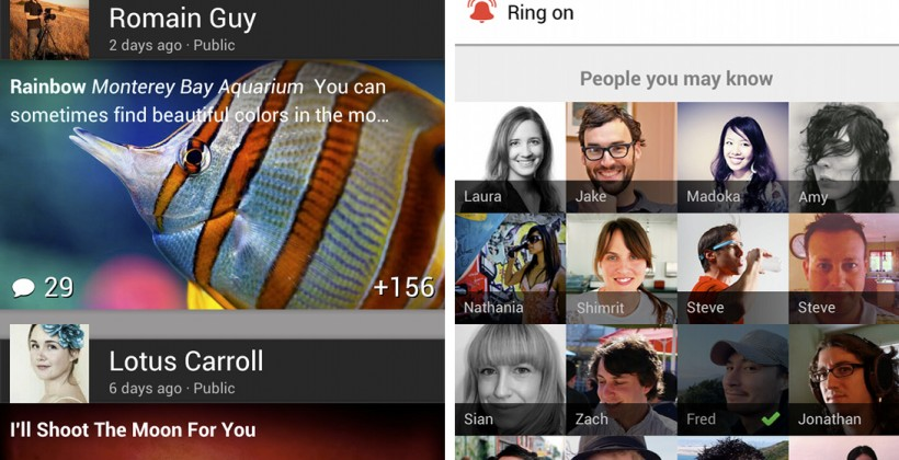 Google+ for Android updated: New UI and mobile Hangout control