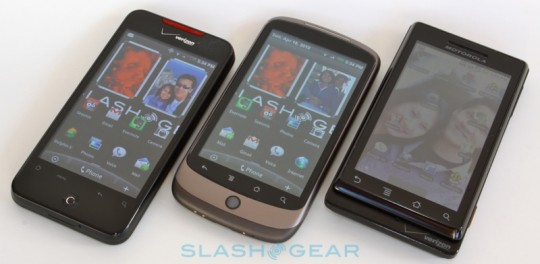 Google Nexus lineup hits multiple partners in 2012