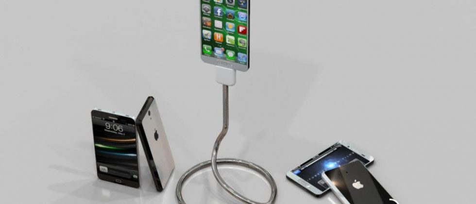 iPhone 5 concept images go heavy metal