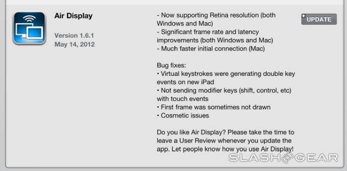 iPad Air Display gets Retina upgrade
