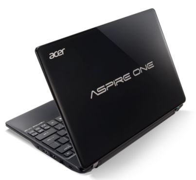 Acer Aspire One 725 netbook packs AMD Fusion