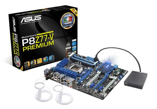 ASUS P8Z77-V PREMIUM motherboard adds Thunderbolt
