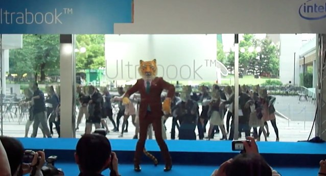 Intel goes tiger dancing in bizarre Ultrabook promo