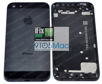 Alleged backplates for next iPhone leak