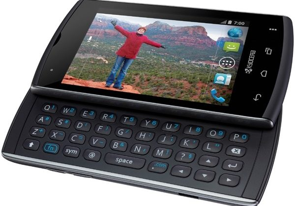 Kyocera Rise offers QWERTY Android on a budget