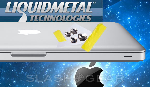 Apple set for Liquidmetal 'casing and enclosures'