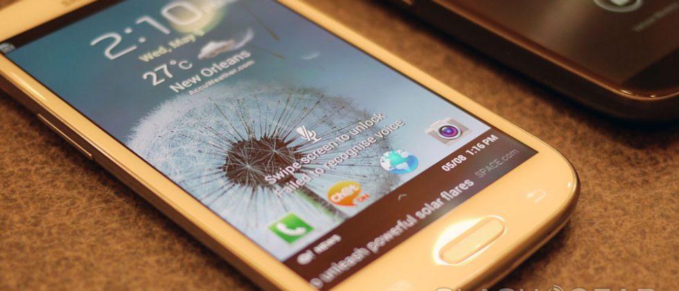 Samsung Galaxy S III vs Galaxy Note hands-on