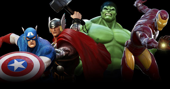 Marvel Heroes online game will be The Avengers of MMOs