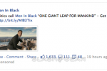 Facebook Main News Feed Sponsored Links begin to appear