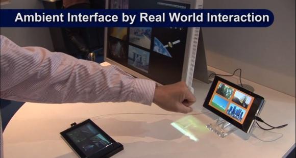 NEC demos gesture-based interactive controls