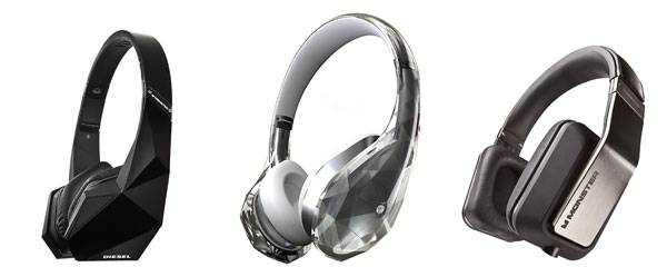 Monster outs new headphone trio