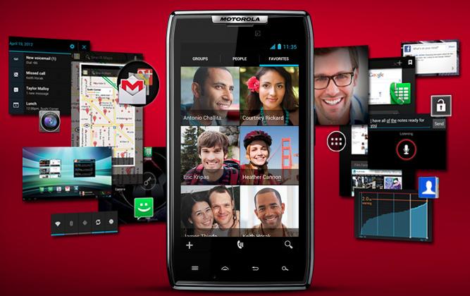 Motorola Android 4.0 ICS software demoed