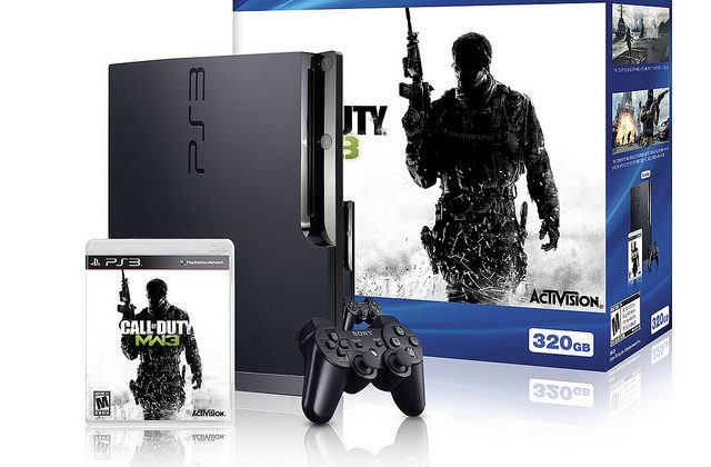Sony Ps3 Call Of Duty Modern Warfare 3 Bundle Announced Slashgear