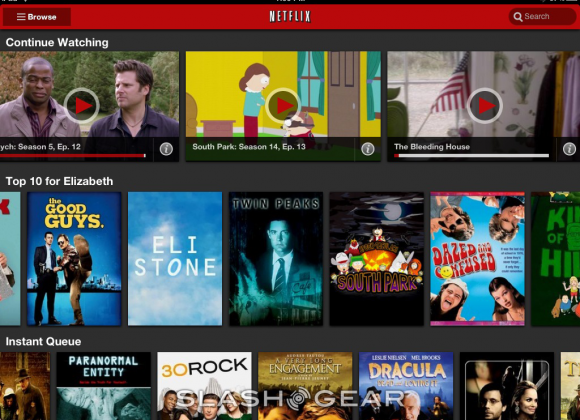 Netflix iPhone app update offers WiFi-only option