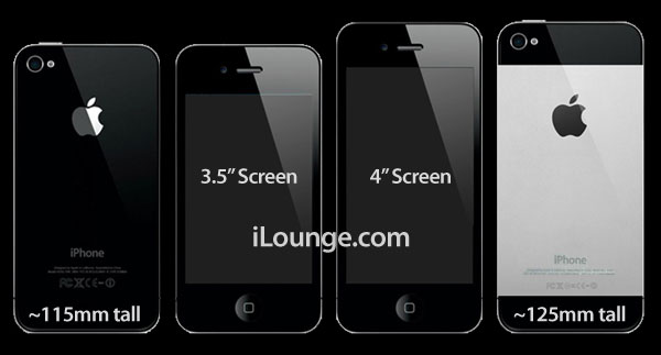 Next iPhone tipped for 4″ screen and metallic back