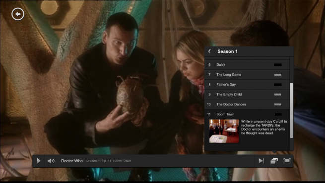 Netflix Web-based video player gets massive redesign