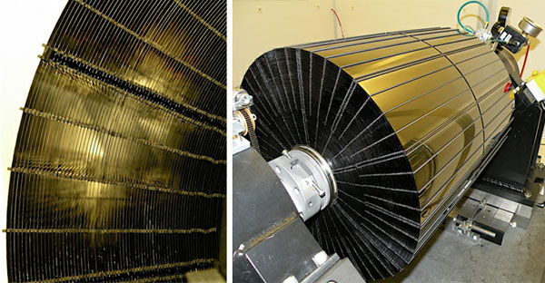 NASA shows off NuSTAR's complex mirror optics