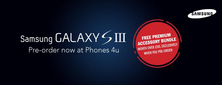 Samsung Galaxy S III UK pricing revealed