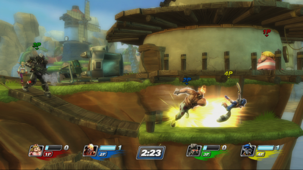 PlayStation All-Stars Battle Royale has Vita in its eyes