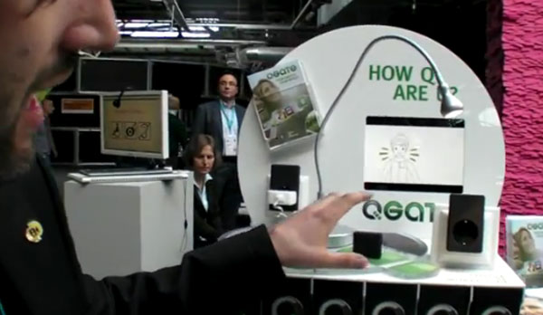 QGate GSM and RF home automation demonstrated