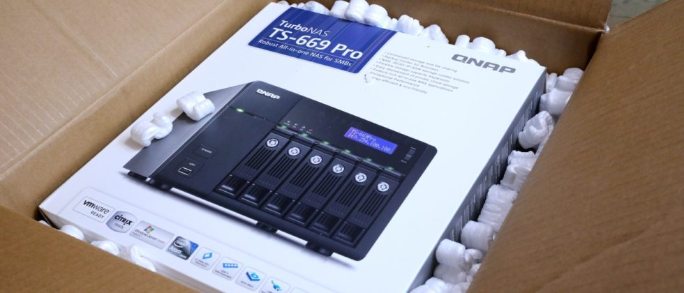 QNAP TS-669 Pro TurboNAS Review - SlashGear