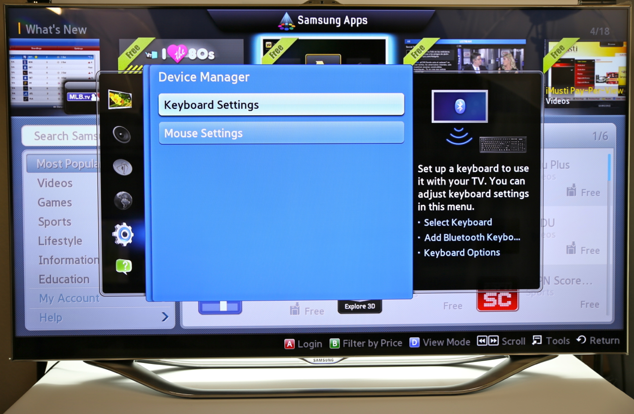 Samsung Smart TV Voice, Gesture and Face Recognition Hands-on