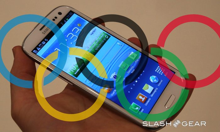 Samsung Galaxy S III named official Olympics 2012 phone