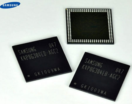 Samsung launches new DRAM early amid stock drop