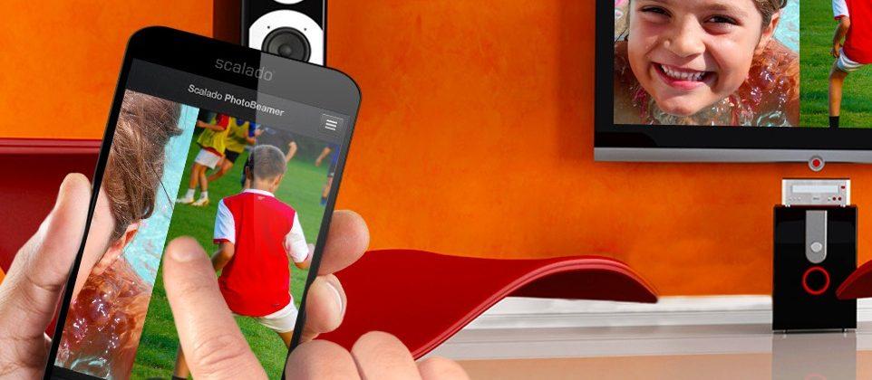 Scalado PhotoBeamer for iPhone makes sharing magic