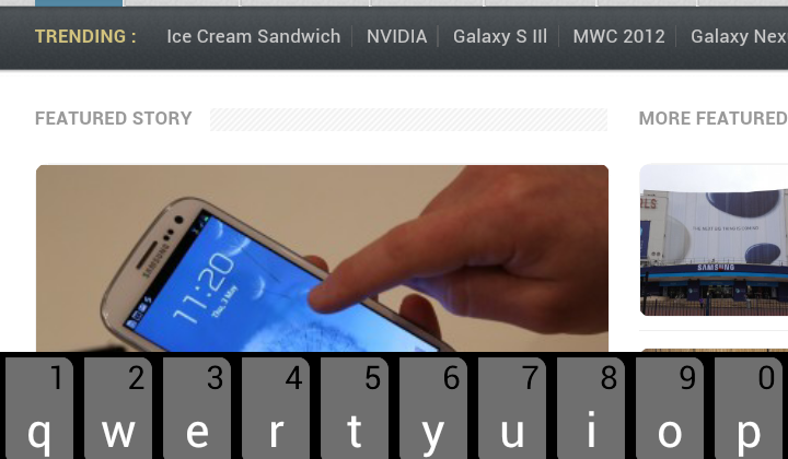 SwiftKey 3 Beta gets UI upgrade