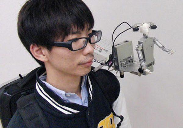 Japanese MH-2 shoulder bot is just plain weird