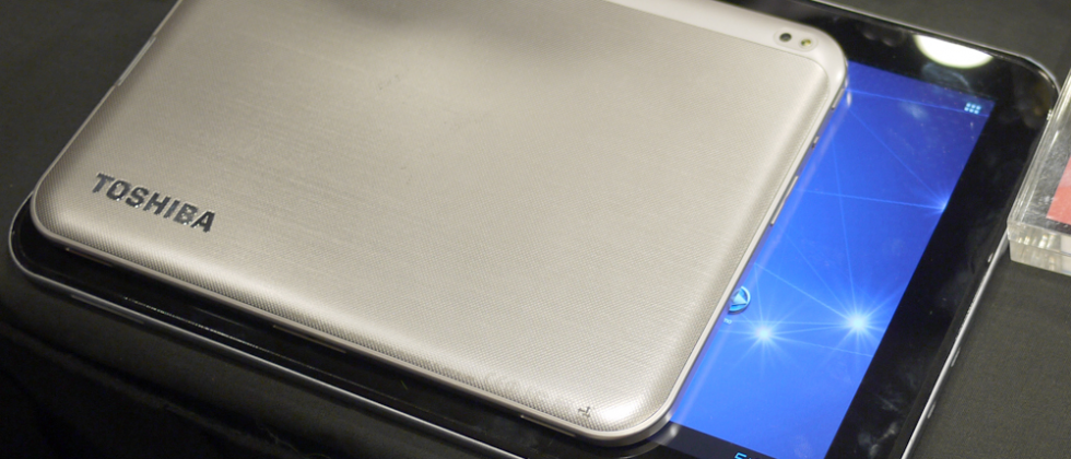 Toshiba Excite 13-inch Android tablet hands-on