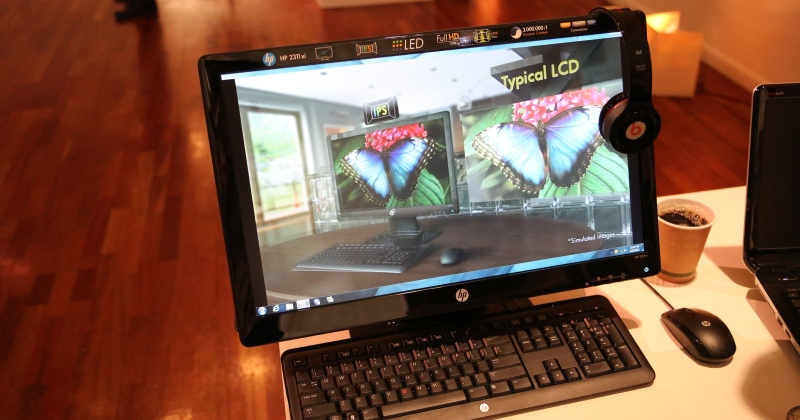 HP 2311xi IPS LED Backlit Monitor hands-on