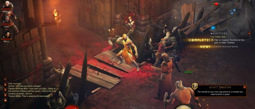 Diablo III PvP patch tipped by Blizzard