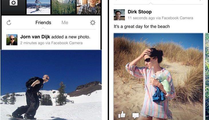 iOS Facebook Camera app launches in face of Instagram