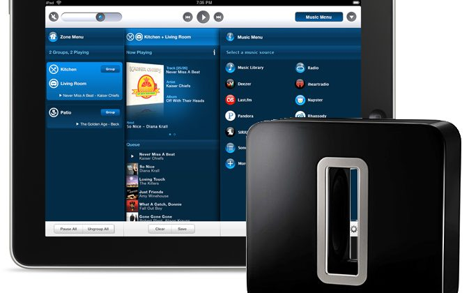 Sonos iOS and Android apps get SUB support