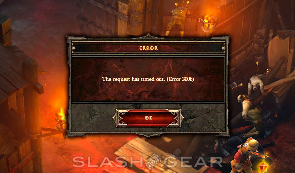 Diablo III error apology issued by Blizzard