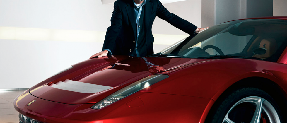 Eric Clapton's one-off Ferrari is turning heads
