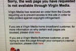 Pirate Bay blocked by Virgin Media