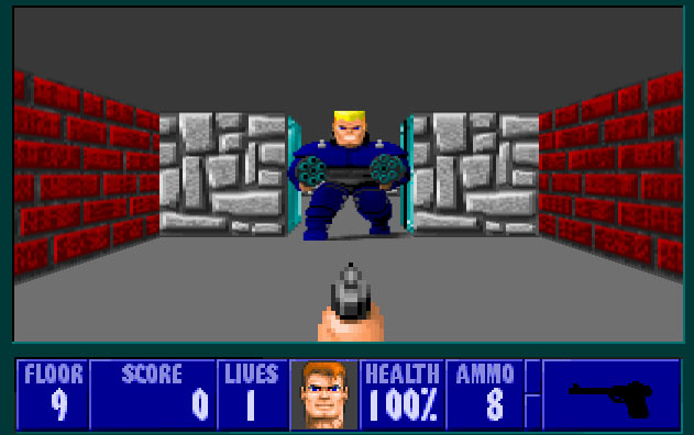 Wolfenstein 3D turns 20, goes free on the web and iOS