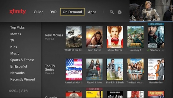 Comcast launches next-gen X1 cloud-enabled DVR