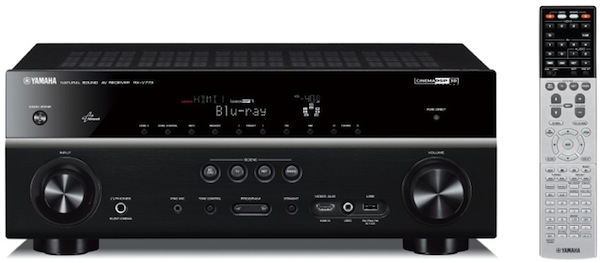 Yamaha RX-V773WA, RX-V673 receivers offer AirPlay, 4K/3D passthrough