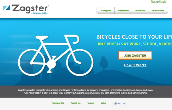 Zagster bike sharing service wants to be an amenity